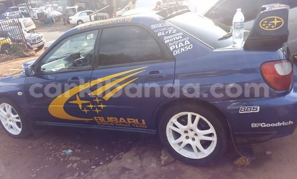 Buy Used Subaru Impreza Blue Car in Kampala in Uganda