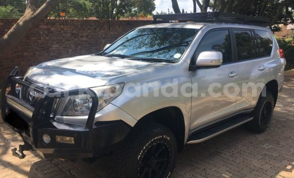 Buy Used Toyota Land Cruiser Prado Silver Car in Kasese in Uganda