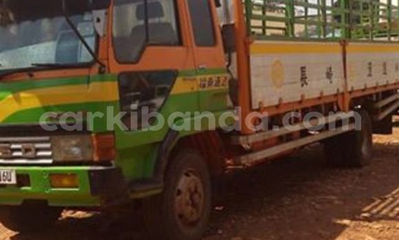 Buy Used Fuso Fighter Green Truck in Kampala in Uganda