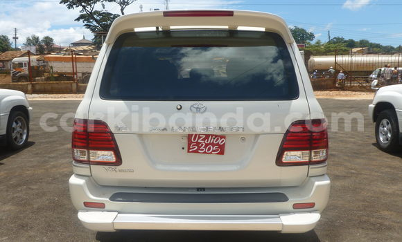 Buy Used Toyota Land Cruiser White Car in Arua in Uganda