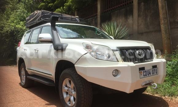 Buy Used Toyota Prado White Car in Kampala in Uganda