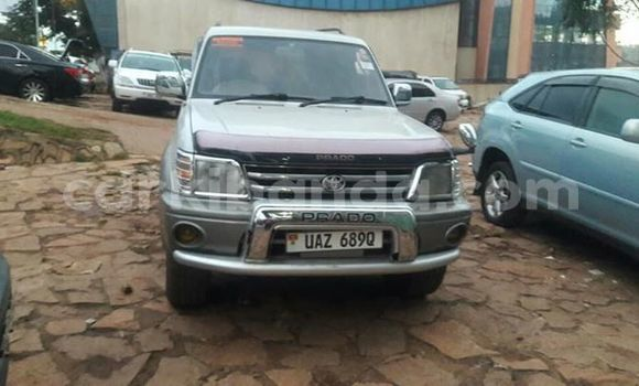 Buy Used Toyota Land Cruiser Prado Silver Car in Kampala in Uganda