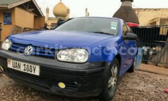 Buy Used Volkswagen Golf Blue Car in Kampala in Uganda