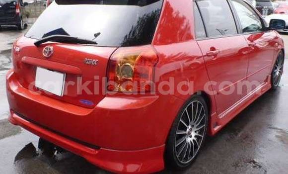 Buy Used Toyota Runx Red Car in Kampala in Uganda