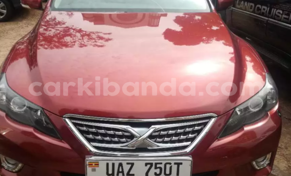 Buy Used Toyota Mark X Red Car in Kampala in Uganda