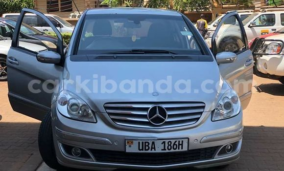 Buy Used Mercedes Benz B–Class Silver Car in Kampala in Uganda