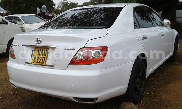 Buy Used Toyota Mark X White Car in Kampala in Uganda