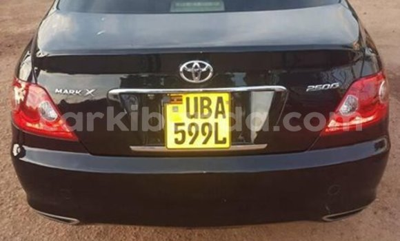 Buy Used Toyota Mark X Black Car in Kampala in Uganda