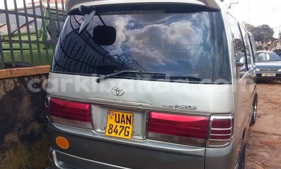 Buy Used Toyota Regius Silver Car in Arua in Uganda