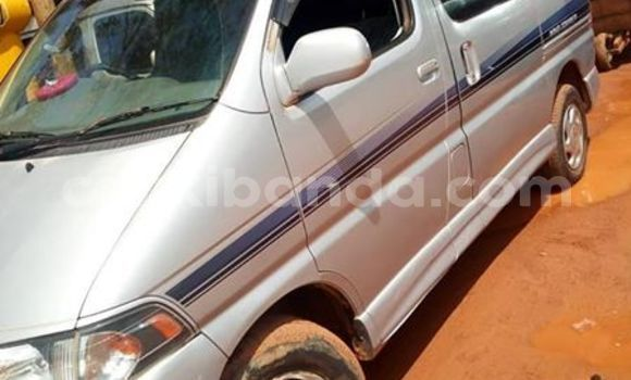 Buy Used Toyota Regius Silver Car in Kampala in Uganda