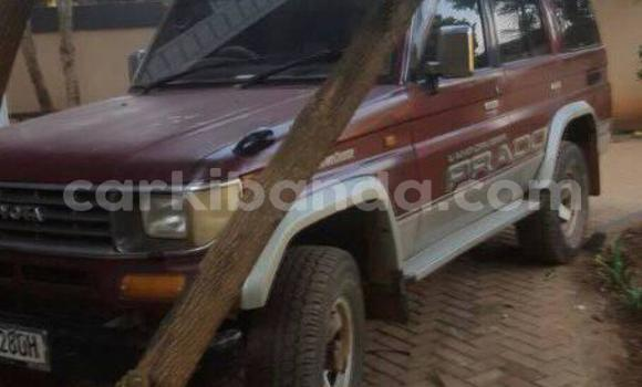 Buy Used Toyota Prado Red Car in Kampala in Uganda