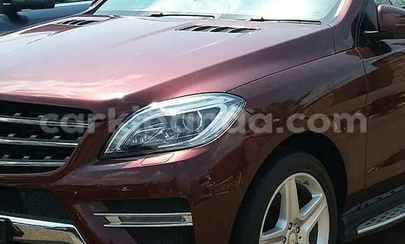 Buy Used Mercedes Benz ML–Class Red Car in Kampala in Uganda