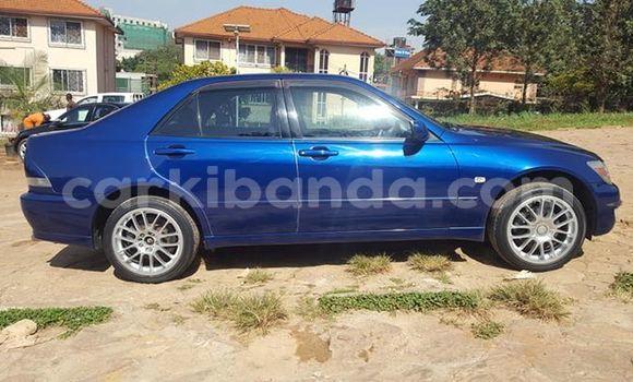 Buy Used Toyota Altezza Blue Car in Kampala in Uganda