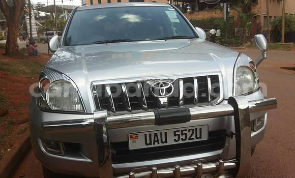 Buy Used Toyota Land Cruiser Prado Silver Car in Arua in Uganda