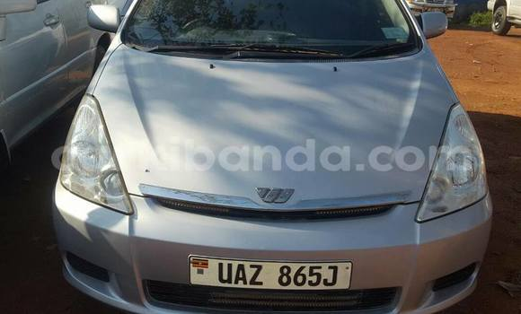 Buy Used Toyota Wish Silver Car in Kampala in Uganda