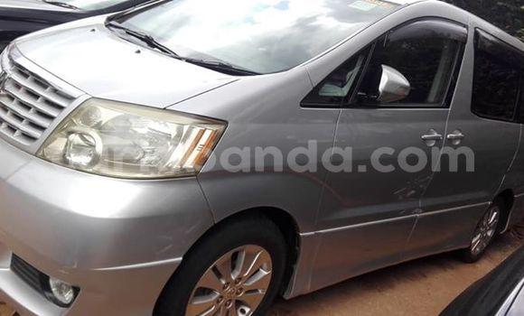 Buy Used Toyota Alphard Silver Car in Kampala in Uganda