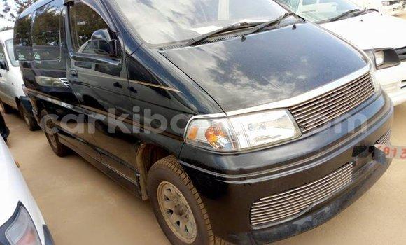 Buy Used Toyota Regius Black Car in Kampala in Uganda