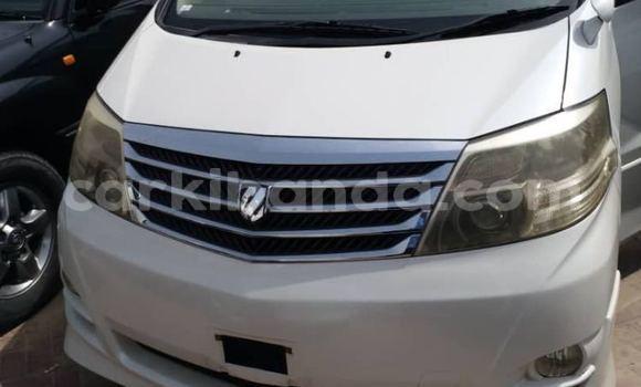 Buy New Toyota Alphard White Car in Kampala in Uganda