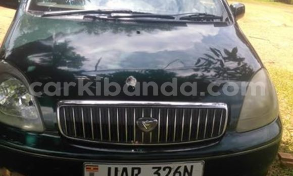Buy Used Toyota Vitz Green Car in Kampala in Uganda