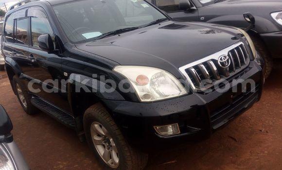 Buy Used Toyota Prado Black Car in Kampala in Uganda
