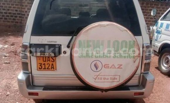 Buy Used Toyota Land Cruiser Prado White Car in Mukono in Uganda