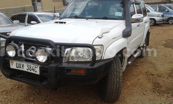 Buy Imported Nissan Patrol White Car in Kampala in Uganda