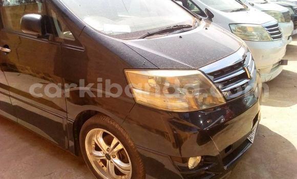 Buy Imported Toyota Alphard Black Car in Kampala in Uganda