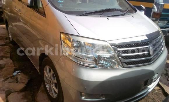 Buy Imported Toyota Alphard Silver Car in Kampala in Uganda