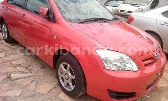 Buy Imported Toyota Allex Red Car in Kampala in Uganda