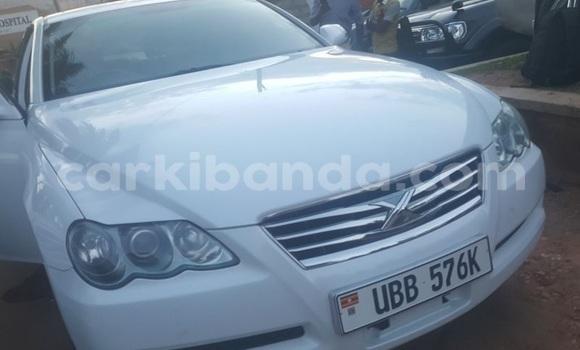 Buy Imported Toyota Mark X White Car in Kampala in Uganda