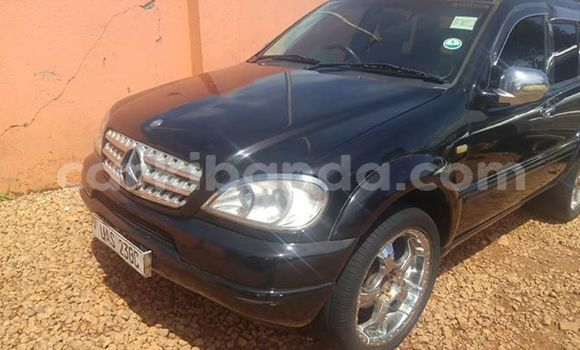 Buy Import Mercedes‒Benz ML–Class Black Car in Kampala in Uganda