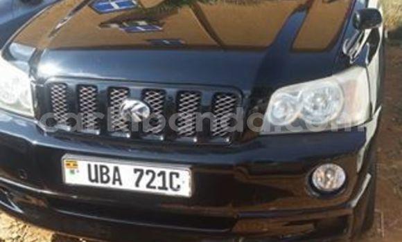 Buy Imported Toyota Kluger Black Car in Kampala in Uganda