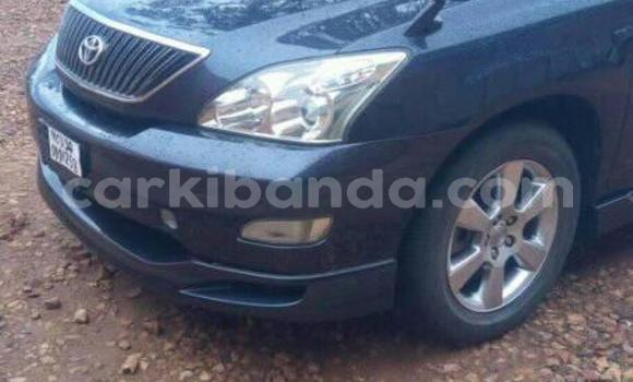 Buy Used Toyota Harrier Blue Car in Kampala in Uganda