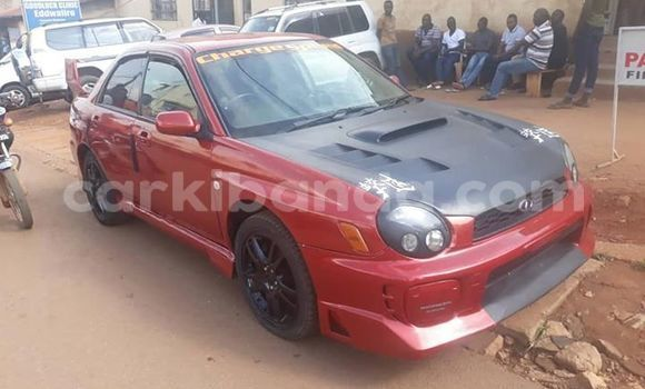 Buy Used Subaru Impreza Red Car in Kampala in Uganda