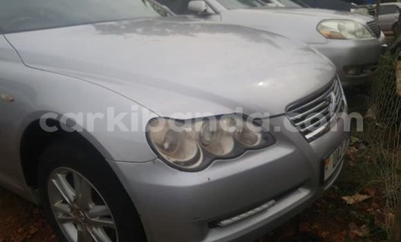 Buy Used Toyota Mark X Silver Car in Kampala in Uganda