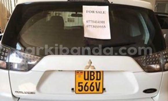 Buy Used Mitsubishi Outlander White Car in Kampala in Uganda