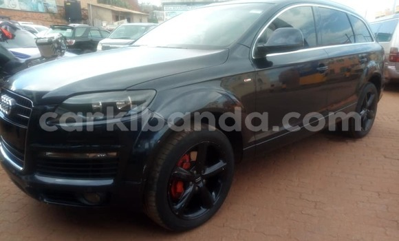 Buy Used Audi Q7 Black Car in Kampala in Uganda