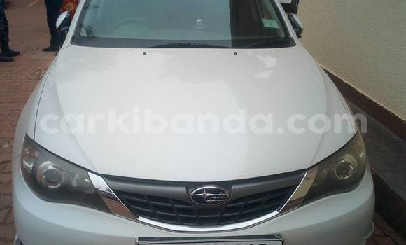 Buy Used Subaru Impreza White Car in Kampala in Uganda