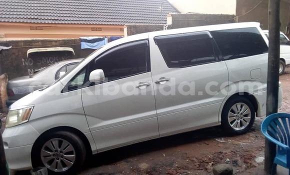 Buy Used Toyota Alphard White Car in Kampala in Uganda