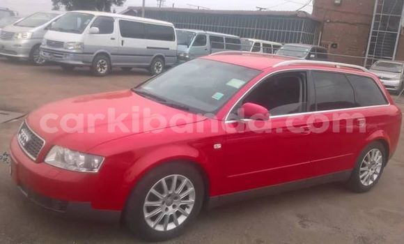 Buy Used Audi A4 Red Car in Kampala in Uganda