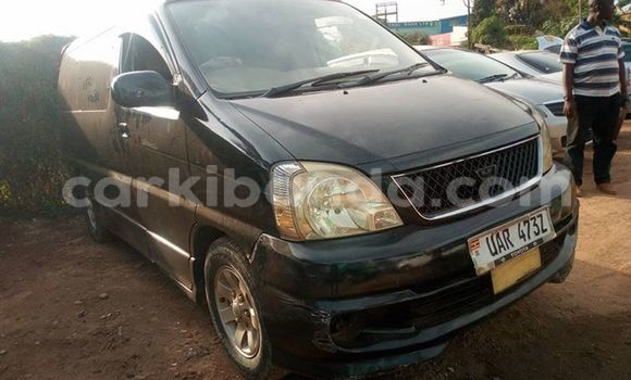 Buy Used Toyota Regius Black Car in Kampala in Uganda