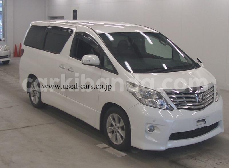 Buy Used Toyota Alphard White Car In Kampala In Uganda Carkibanda