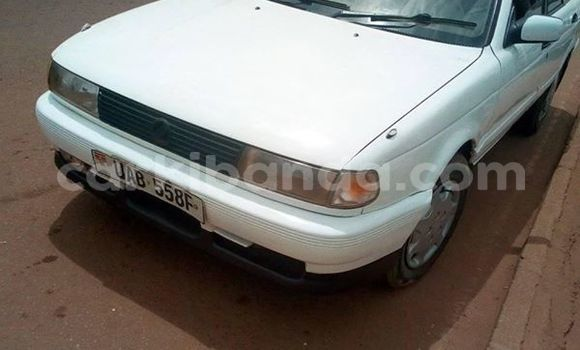 Buy Used Nissan Sunny White Car in Kampala in Uganda