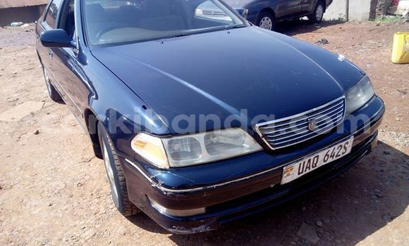 Buy Used Toyota Mark II Blue Car in Kampala in Uganda