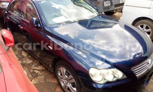 Buy Used Toyota Mark X Blue Car in Kampala in Uganda