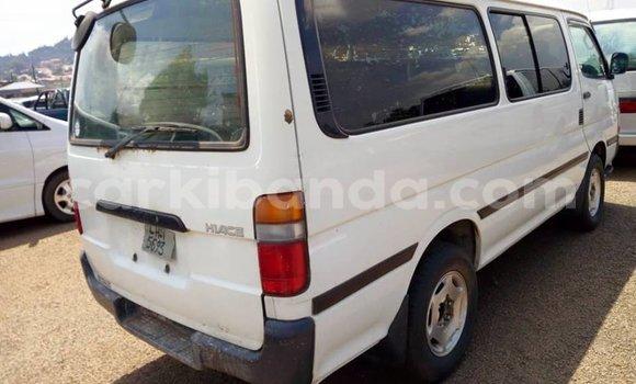 Buy Used Toyota Hiace White Car in Kampala in Uganda