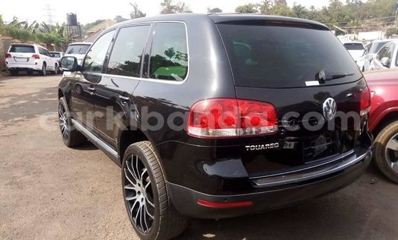 Buy Used Volkswagen Touareg Black Car in Kampala in Uganda