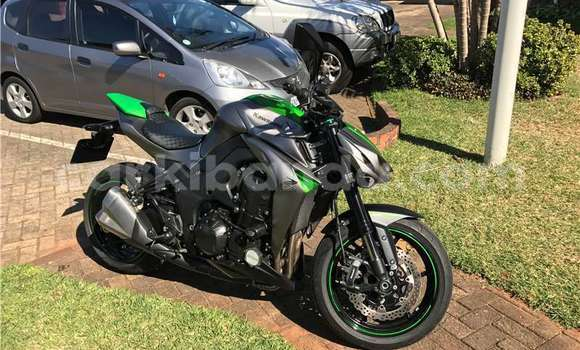 Buy Used Kawasaki Z 1000 Green Bike in Kampala in Uganda