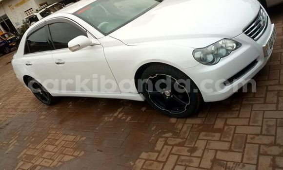 Buy Used Toyota Mark X White Car in Kampala in Uganda