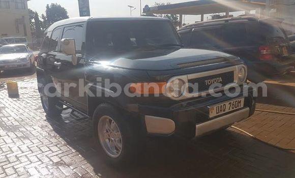 Buy Used Toyota FJ Cruiser Black Car in Kampala in Uganda